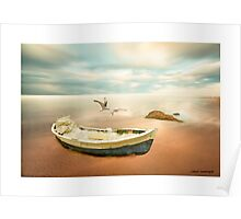 Sunrise On the Beach Poster