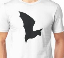 Bat Silhouette - Fundraising for a Flight Enclosure Unisex T-Shirt