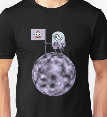 Space Chicken Conqueror Unisex T-Shirt