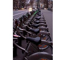 Les Bicyclettes  Photographic Print