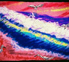 ocean waves by Anna  Lewis