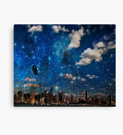 The City in Which I Love You Canvas Print