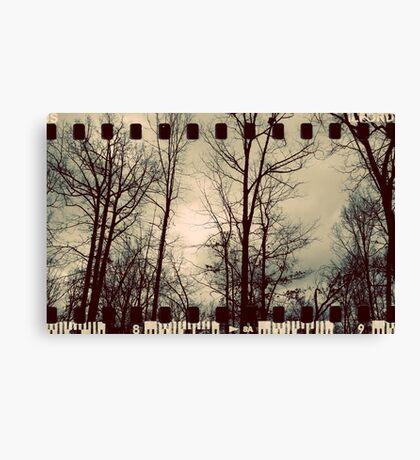 Vintage Trees - Film Overlay Canvas Print