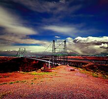 Bridge  at Cameron Trading Post, Arizona by LudaNayvelt