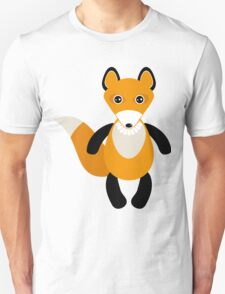 fox and forest tree.  Unisex T-Shirt