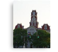 Parker County Courthouse Canvas Print