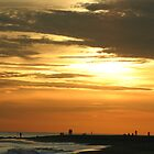 Cape May Sun Set by Éilis  Finnerty Warren