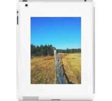 On the Fence iPad Case/Skin