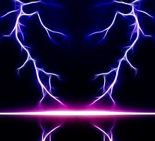 Blue Lightning by Fred Seghetti
