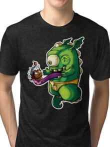 Oh No! Cupcake Monster Tri-blend T-Shirt