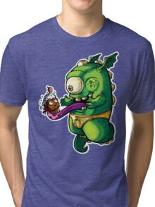 Oh No! Cupcake Monster Tri-blend T-Shirt