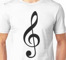 Treble Clef Unisex T-Shirt