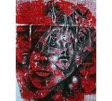 Red Faces Photographic Print