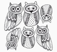 Cute Owl  Baby Tee
