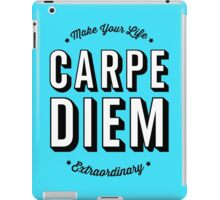 Carpe Diem. iPad Case/Skin