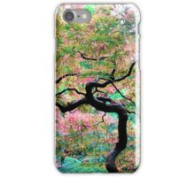 Japanese Maple Tree Painting iPhone Case/Skin