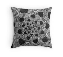 Ribbons of the Heart Throw Pillow