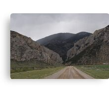 """Road To Avalanche Gulch"" Canvas Print"