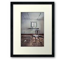 A Room For Thought Framed Print