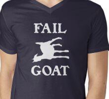 FAIL GOAT - White Mens V-Neck T-Shirt