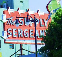 """The Supply Seargent on Hollywood Boulevard"" by PHOTOCENRTIC"