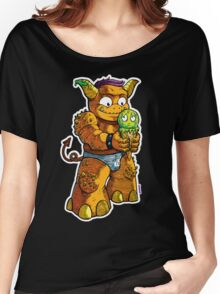 Look Out! Ice Cream Monster Women's Relaxed Fit T-Shirt