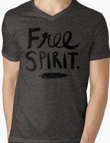 Free Spirit Mens V-Neck T-Shirt