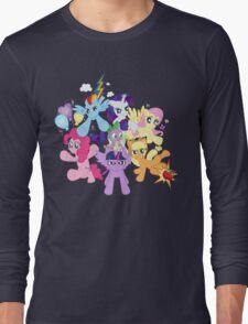 My Little Pony FiM - The Mane Six Long Sleeve T-Shirt