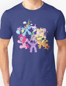 My Little Pony FiM - The Mane Six Unisex T-Shirt