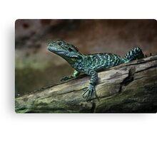 Reptilian Profile Canvas Print
