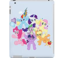 My Little Pony FiM - The Mane Six iPad Case/Skin