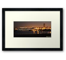 Queen Elizabeth Visits Queen Mary Framed Print