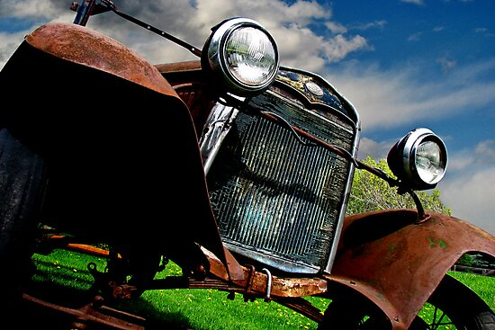 Old Fords never die, they just become picturesque 3 by John Poon