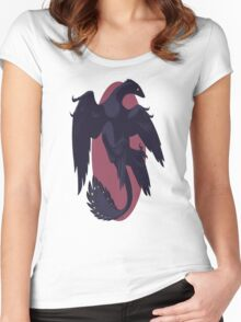 Muted Microraptor Women's Fitted Scoop T-Shirt