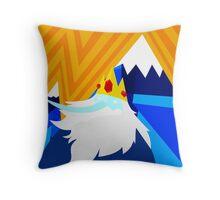 Visit Ice Kingdom! Throw Pillow