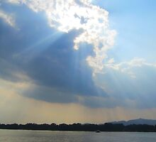 Sun at the Summer Palace, Beijing by justineb