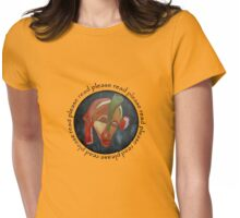 Page Turner, Please Read Womens Fitted T-Shirt