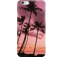 Maui Silhouette Sunset iPhone Case/Skin