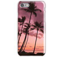 Maui Silhouette Sunset iPhone Case/Skin