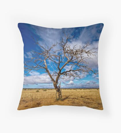 Portrait of a Tree - Steinfeld, South Australia Throw Pillow