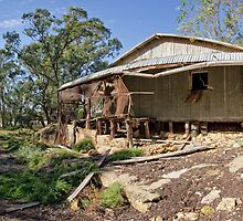 Stockman's Hut - Blanchetown, South Australia by AllshotsImaging