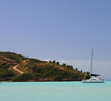 Caribbean Blues by Lynne Morris