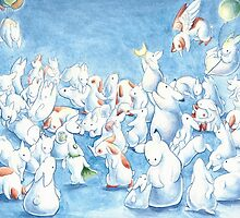 Bunny Herd by Ashley Dadoun