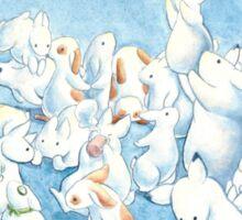 Bunny Herd Sticker