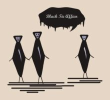 The Black Tie Affair by gnarlyart