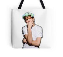 Bo Burnham Flower crown Tote Bag