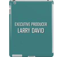 Executive Producer Larry David iPad Case/Skin