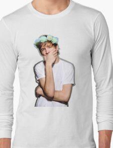 Bo Burnham Flower crown Long Sleeve T-Shirt