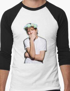 Bo Burnham Flower crown Men's Baseball ¾ T-Shirt