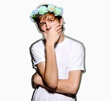 Bo Burnham Flower crown T-Shirt